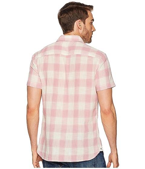 Check Klein Button Jeans Gauze Calvin Down Short Sleeve qYxUdU7Xw