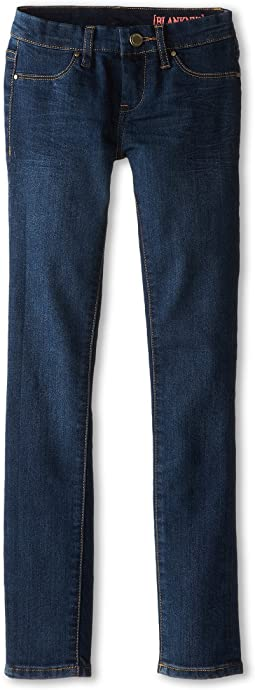 Blank NYC Kids - Dark Denim Skinny Jeans in Super (Big Kids)