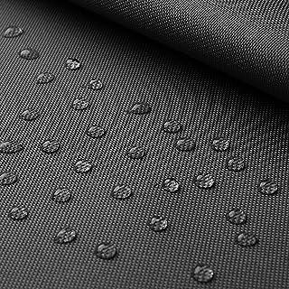 9,98€/m Breaker abwaschbar - Canvas Stoff mit Beschichtung - abwaschbar, wasserdicht - Oxford Polyester per 0,5m, dunkelgrau