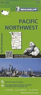 Michelin USA Pacific Northwest Map 171 (Michelin Zoom USA Maps)