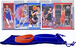 JJ Redick Basketball Cards Assorted (5) Bundle - New Orleans Pelicans Trading Card Gift Pack