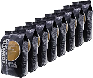 Lavazza Coffee Espresso Gold Selection, Whole Beans, Pack of 8, 8 x 1000g