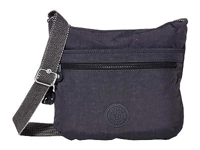 Kipling Arto Crossbody Bag (Night Grey) Handbags