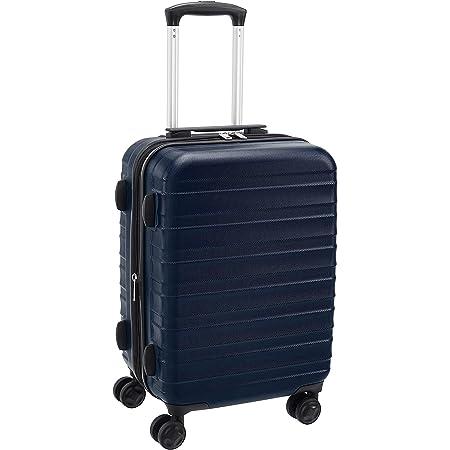 Amazon Basics Valise rigide et solide, de qualité supérieure, 56cm - Bleu