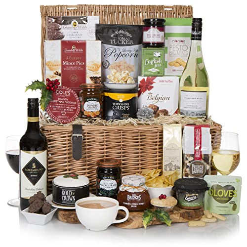 Luxury Traditional Hamper - 2018 Christmas, Boxing Day and New Years Food Hampers Range -