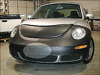 Lebra 2 piece Front End Cover Black - Car Mask Bra - Fits - Volkswagen VW Beetle (except Turbo S) 2006 thru 2011