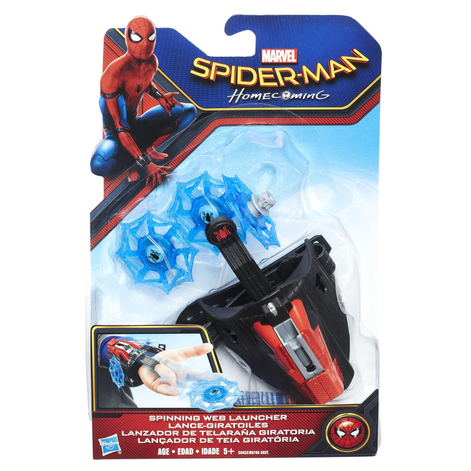 Spider-Man Marvel Web de Spinning Lanzador: Amazon.es: Juguetes y ...