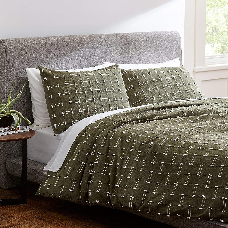 Amazon Factory outlet Brand New sales – Rivet Global Duvet Cove Textured 100% Cotton