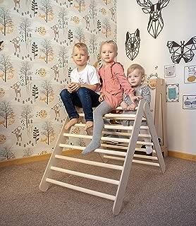 Pikler triangle, Waldorf toys, Climbing triangle, Climbing ladder, Step triangle, Montessori furniture