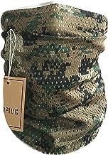 QHIU /Écharpe Tactique Foulard Bandeaux Wrap Face Anti-Vent Militaire pour Camping Randonn/ée Hommes Femmes Unisexe