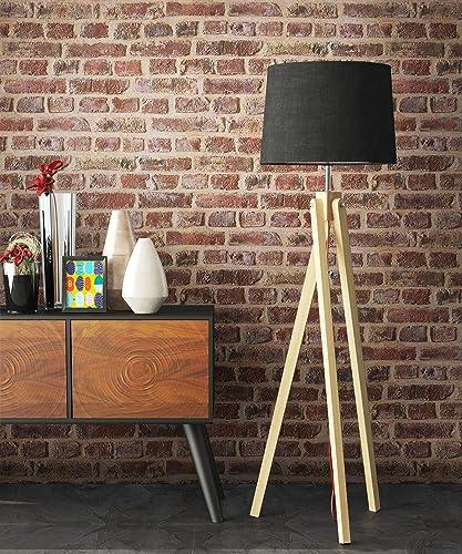 Papier peint - Pierres brun rouge - Beau papier peint style mur de briques - Effet 3D - Pour chambre à coucher - Salo...