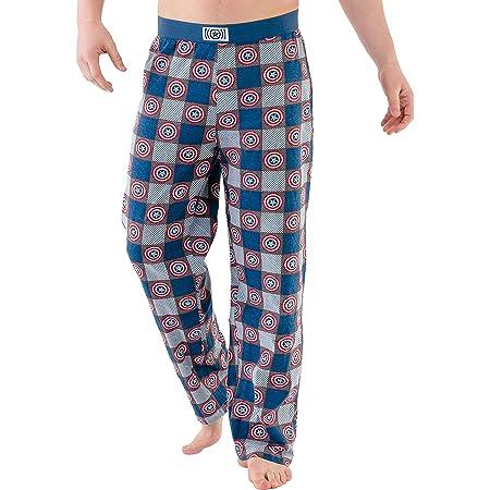 Marvel Pijama Hombre, Pantalones Largos de Pijama para ...