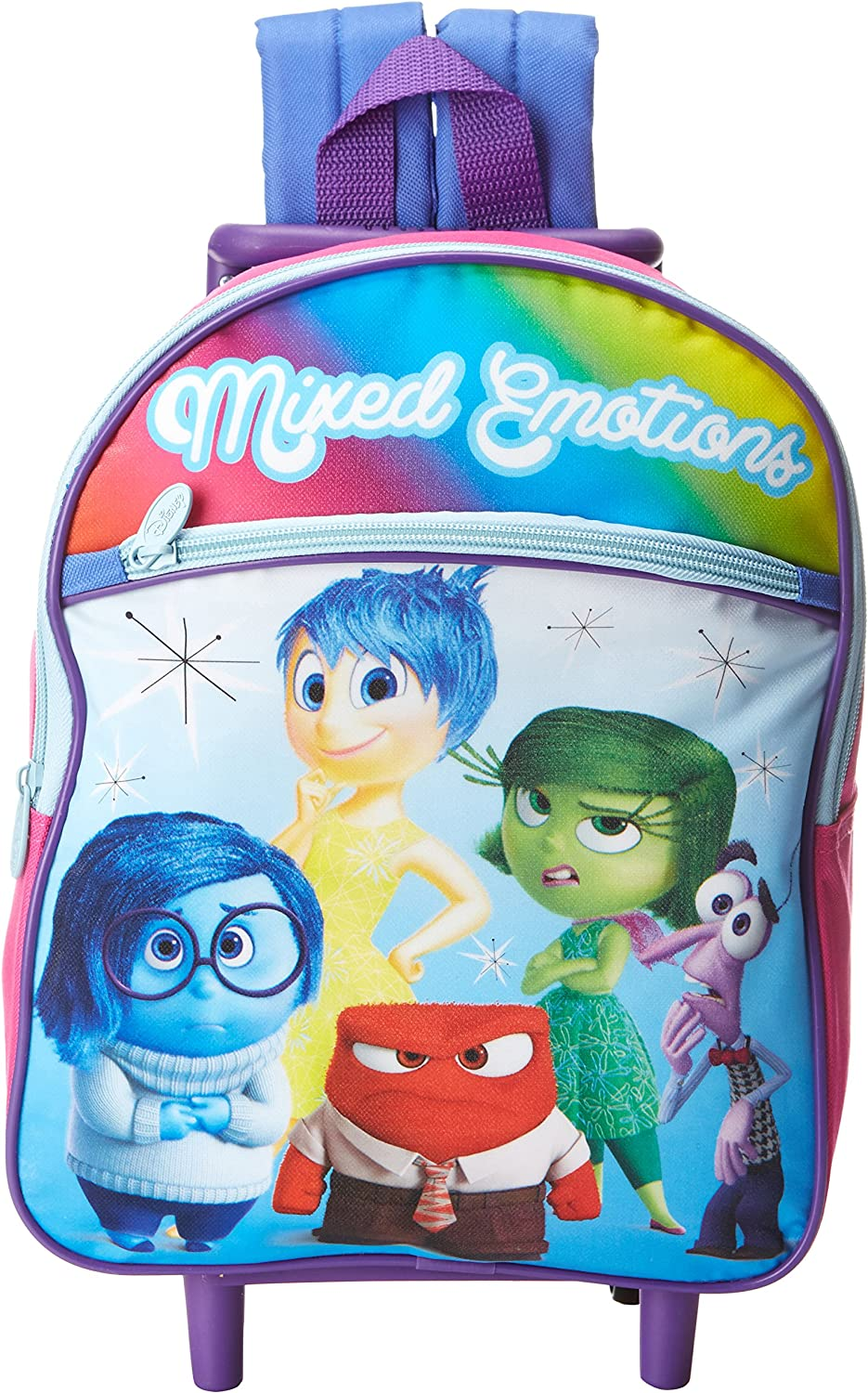 Inside Out  Mixed Emotions  Mini Rolling Backpack
