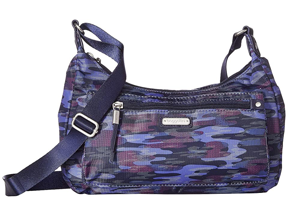 Baggallini New Classic Out and About Bagg with RFID Phone Wristlet (Moonlight Camo) Bags