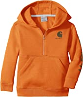 Carhartt Kids - Logo Fleece 1/2 Zip Sweatshirt (Infant)