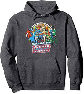 Justice League Join the League Pullover Hoodie Pullover Hoodie