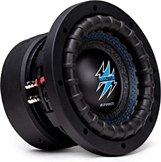 $94 » Sponsored Ad - Hifonics BRW6D4 600 Watts 6.5 Inch Brutus Car Audio Subwoofer with Heavy Gauge, Powder Coated, Aluminum Die...