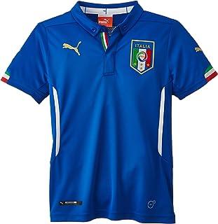 PUMA Unisex Kinder Trikot FIGC Italia Kids Home Shirt Replica Italien Trikot