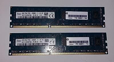 SK Hynix HMT41GU6BFR8A-PB 2x8GB (16GB Total) 2Rx8 PC3L-12800U Desktop Memory