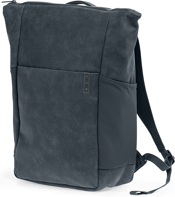 AEP Rucksack Sleek Line Premium Business Backpack 15 Zoll Notebookfach wasserabweisend - Grau B06Y6L153F | Elegantes und robustes Menü