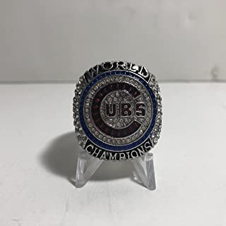 2016 Anthony Rizzo Chicago Cubs High Quality Replica 2016 World Series Championship Ring Size 13.5-Silver Color US SHIPPING