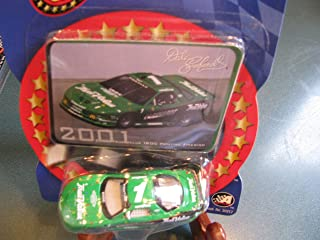 Dale Earnhardt Sr #1 Green True Value IROC Series Last IROC Car Before His Untimely Death 1/64 Scale 2001 Green True Value IROC Winners Circle With Photo Collector Card Insert
