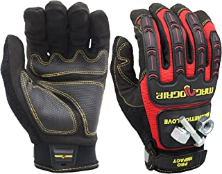 MagnoGrip 002-733 Pro Impact Magnetic Utility Gloves with Touchscreen Technology - Xlarge