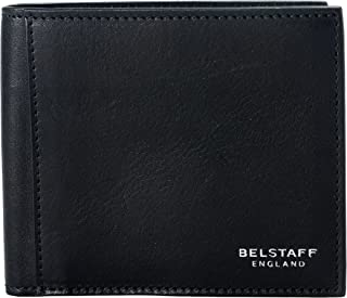 London 100% Leather Men's Black Bifold Wallet
