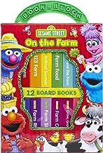 Sesame Street - On The Farm Book Block 12 Board Books