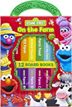 Sesame Street - On The Farm My First Library Board Book Block 12-Book Set - PI Kids