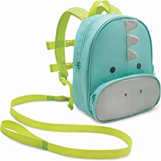 Travel Bug Toddler Safety Backpack Harness with Removable Tether (Dino)