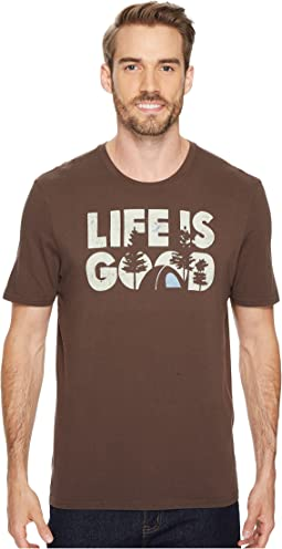 Life is Good® Campground Smooth Tee