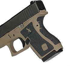 Foxx Grips -Gun Grips Glock 43 (Rubber Grip Enhancement)