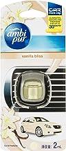 Ambi Pur Car Mini Clip Car Air Freshener Vanilla Bliss 2mL