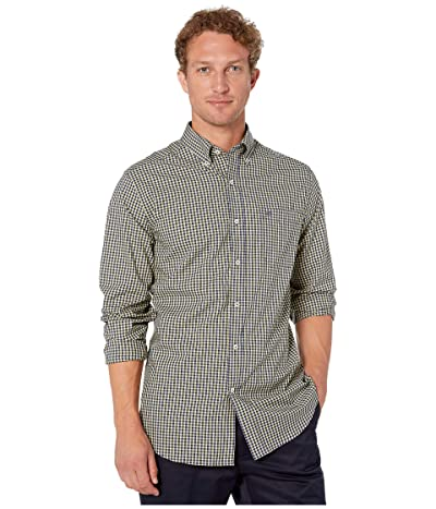 Southern Tide Asliomar Check Sport Shirt (Naples Yellow) Men