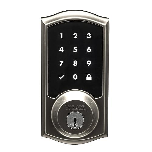 75d79ed7d77 Weiser SmartCode 10 Touchscreen Door Lock