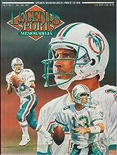 legends sports memorabilia magazine prices