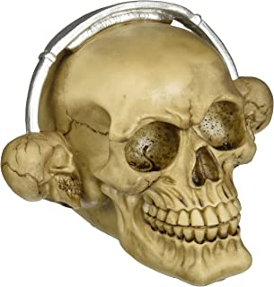 Zingz & Thingz Rockin Headphone Skull Figurine