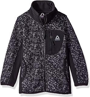 Reebok Girls' Active Texture Sweater Fleece Jacket