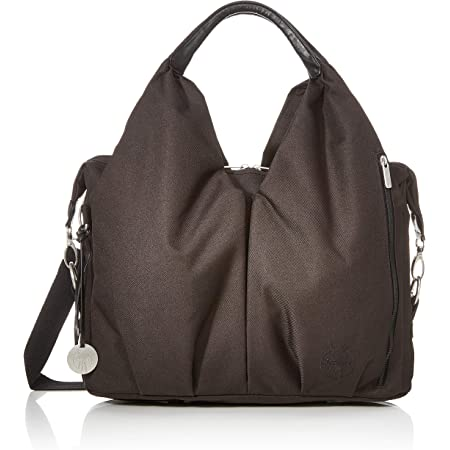 Black Lassig Casual Messenger Diaper//Changing Bag