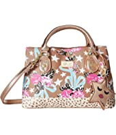 Luv Betsey - Candi Petite Triple Compartment Satchel