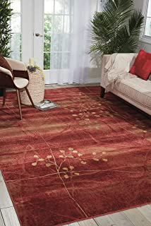 Nourison Somerset Flame Rectangle Area Rug, 2' x 2'9