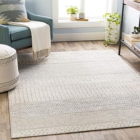 Amazon Com Artistic Weavers Chester Grey Area Rug 7 10 X 10 3 Furniture Decor