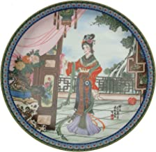 Imperial Jingdezhen Porcelain Beauties of The Red Mansion Plate Hsi-Feng or Hsifeng by Zhao Huimin CP562