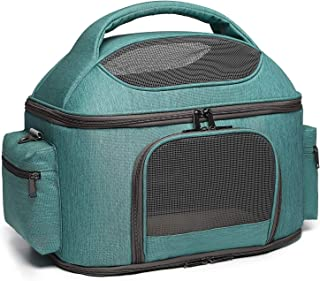 halinfer Pet Carrier for Large Cats and Small Dog, Fits up to 25 pounds Fat Cat Carrier, Collapsible Soft Side Carrier Air...