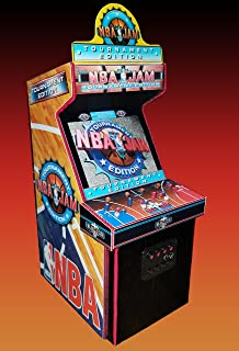 Mini NBA JAM Tournament Edition Arcade Cabinet Collectible 5.4 Inch Display (NOT A MACHINE)