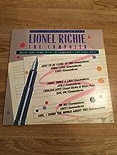 Composer Lp (Vinyl) Uk Motown 1986 [Vinyl] Lionel Richie
