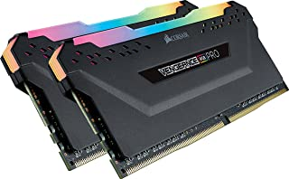 Corsair Vengeance RGB PRO 16GB (2x8GB) DDR4 3000MHz C15 LED Desktop Memory - Black, Model:CMW16GX4M2C3000C15