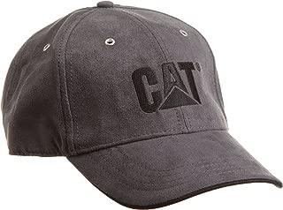Caterpillar Men's Trademark Microsuede Cap