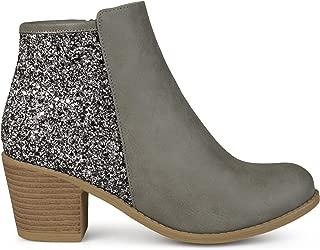 faux leather fringe boots